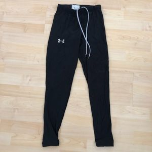 Under Armour Black Women's Workout Leggings Tights